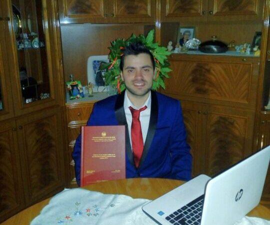 Il santangiolese Andrea Petrelli laureato al tempo del coronavirus