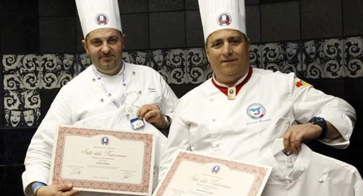 Premiati a livello internazionale due chef provenienti dal territorio dei Nebrodi