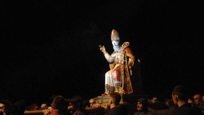 La Festa di San Leone, una tradizione che si rinnova con numerosi partecipanti, nonostante il vento
